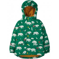 Outerwear - Frugi - AW19 - Puddle Buster Coat - Rhino Ramble - 1-2, 2-3, 3-4, 4-5, 5-6, 6-7, 7-8 - sale