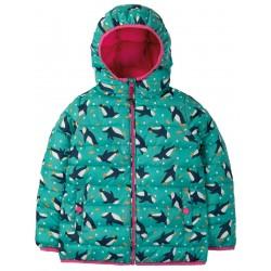 Outerwear - Frugi - AW19 -  Toasty Trail Jacket - Penguin Paddle- 3-4, 5-6 ,6-7, 7-8, 8-9y  sale
