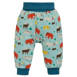 Trousers - Frugi - AW19  -  drop 2 - Parsnip pants - Prehistoric pals - 0-3, 3-6, 6-12, 12-18, 18-24m and 2-3, 3-4y - new