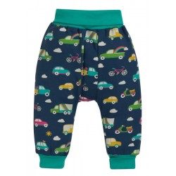 Trousers - Frugi - AW19  -  drop 2 - Parsnip pants -  Space Blue Rainbow Roads - 0-3, 3-6, 6-12, 12-18, 18-24m and 2-3, 3-4y - new