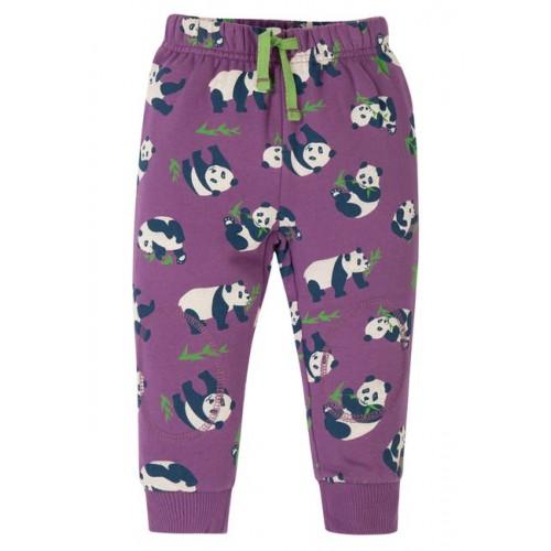 Crawlers - Frugi - AW19 - drop 2 -  Snuggle Crawlers - Peekaboo Purple Pandas  - 0-3, 3-6, 6-12, 12-18, 18-24m and 2-3 , 3-4y  - new