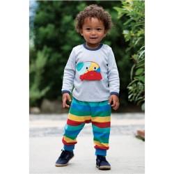 Pants - Frugi - AW19  - drop 3 - Parsnip pants - rainbow Stripe  - 0-3, 3-6, 12-18, 18-24m and 2-3, 3-4y - new
