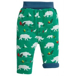 Trousers - Frugi - AW19 - drop 3 - Rory - Reversible Pull Ups - Rhino - 0-3, 3-6, 6-12, 12-18, 18-4m and 2-3, 3-4y - new