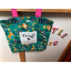 Bag - Frugi - TOTE bag - endangered animals  - sale promotion