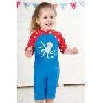 Sun  Swim Safe Suit - Frugi - Little Sun Suit - octopus  - 12-18m, 18-24m and 2-3y 3-4y sale