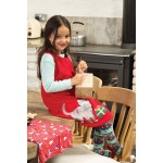 Tights - Frugi - AW19 - drop 4 -  Norah Tights -   steely blue - fairisle kitty -  2-4, 4-6, 6-8, 8-10y - new