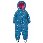 Outerwear - Frugi -  AW19 - Explorer  Waterproof - Sail Blue Pink Fly high -  All in One - 1-2, 2-3, 3-4, 4-5, 5-6 y - new