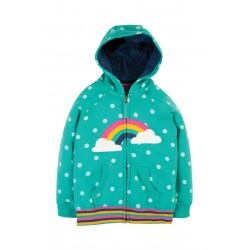 Hoody - Frugi - Dorothy - Polka Dot Rainbow - 2-3, 3-4, 4-5, 5-6, 6-7, 7-8, 8-9, 9-10  - sale