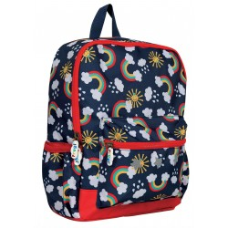 Bag - Frugi - Adventure -  Backpack Bag - RAIN or SHINE  -  matching pencil case, lunch box and bottle also available - sale