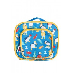 Bag - Frugi - Pack A Snack Lunch Bag -  Sail Blue Puffin - sale offer