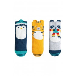 Socks - Frugi - Paw-some socks in a box - cosy creature animals - 0-6m, 6-12m and 1-2y 2-4y - sale offer