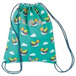 Bag - FRUGI - Good to go drawstring bag - Ducks  - sale