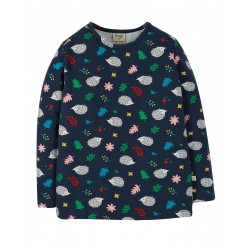 Top - Frugi - Bryher - Kids Hedgehogs - AW20 - NEW