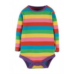 Body - Frugi - Favourite - Foxglove Rainbow Stripe - AW20 - NEW