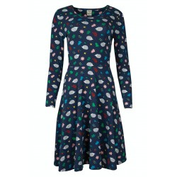 ADULT - Frugi - Grown Up - Sofia Skater Dress - Hedgehog - size 10 and size 16 - ladies - sale
