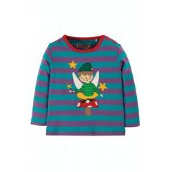 Top - Frugi - Button - Fairy -  0-3 last item 45% off clearance sale