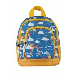 Bag - Frugi - Little Adventurers Backpack - Rainbow Skies - last 2 in  sale