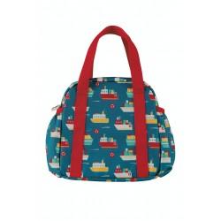 Bag - Frugi - Pack A Picnic Lunch Bag - Sail the Seas - sale
