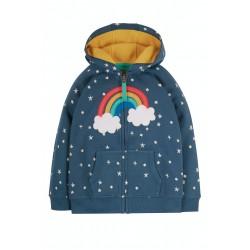 Hoody - Frugi - Dorothy - Abisko Stars and Rainbow - 18-24m and 2-3, 3-4, 4-5, 5-6, 6-7, 7-8, 8-9, 9-10 sale