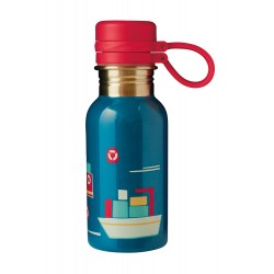 Bottle - Frugi - Splish Splash -  Loch Blue - Boat - 2 left in sale