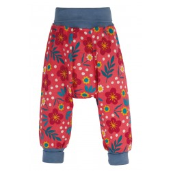 Parsnips  - Frugi -  Parsnip Trousers Pants  - Scandi Flower 12-18m 18-24m and 2-3, 3-4, 4-5 - sale