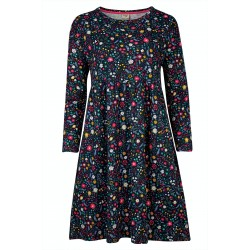 ADULT - Frugi -  Dress - Tamsin - Mountainside floral - Slub material not the material as adult top and leggings - ladies UK 8, 10, 12, 14, 16, 18 -  (please read the description) sale promotion