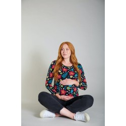 Adult - Frugi - Rachel - Top - Bold floral - ladies UK 8, 10, 12, 14, 16 , 18 - sale