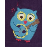 Dress - FRUGI - Owl Applique Cord Dress LAST  6-12m - Sale last one