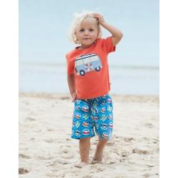Shorts - Frugi Baby - Camper van - SALE - 0-3,  3-6m