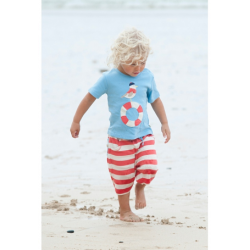 Shorts - Frugi Baby (Seagull) SALE 0-3m - last one in sale