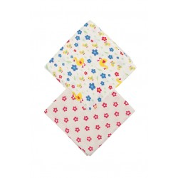 Muslin - Frugi - 2 pack - duck waddle flower