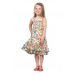 Skirt/Dress - FRUGI Layered in SALE 3-4, 5-6, 7-8y