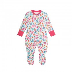 Babygrow - Frugi Cats friends - 6-12 (2x)