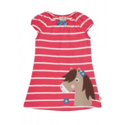 Dress - Frugi Lola  Breton/Pony - 12-18m, 18-24 (2x