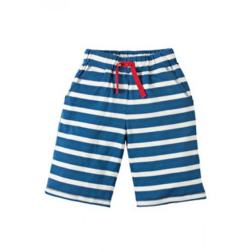 Shorts - Frugi Scilly Shorts - Ink Breton  - in sale  7-8, 8-9y