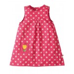 Dress - Frugi Little Lamorna Reversible Dress -  cat  - 0-3, 12-18, 18-24m