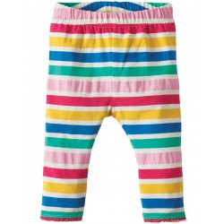 Leggings - Frugi Little Libby - Multi Stripe 0-3, 6-12
