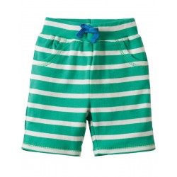 Shorts - Frugi Little Stripy - Jungle Green Breton/Giraffe 12-18 m and  3-4y (2x)