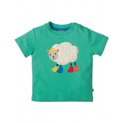 Top - Frugi Little Creature -  Jungle/Sheep 0-3, 6-12 - sale