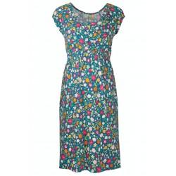 Adult - Frugi - Spring Maternity Nursing Smocked Dress -  Flower Valley - SS21 - sale