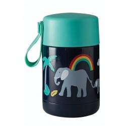 Flask - Frugi - Yummy Insulated Food Flask - Elephant - 450 ml - SS21 - sale