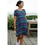 Adult - Frugi - Naomi Maternity Dress  with Pockets - India Ink Stripe - SS21 - sale