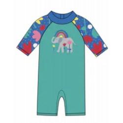 Sunsafe suit  SWIM - Pacific Aqua Elephants - SS21
