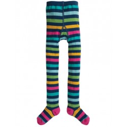 Tights - Frugi - Norah - Bright Multistripe - 4-6 y - last item 45% off clearance sale