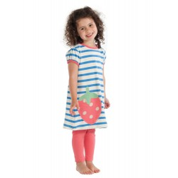 Leggings - Frugi Coral 0-3m in SALE