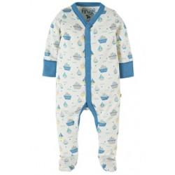 Babygrow - Frugi - My first - Darling Little Whale 0-3m 2 x sale -