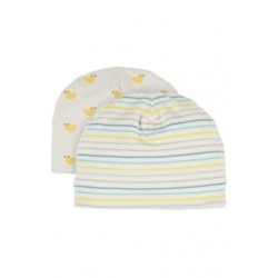 Hat - Frugi - My first - tiny baby, NB,   6-12m - Bobbing Along ducks