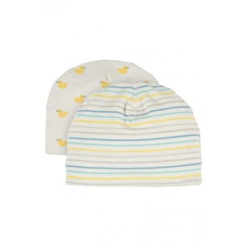 Hat - Frugi - My first - tiny baby, NB, 0-3, 3-6, 6-12m - Bobbing Along ducks - new SS18