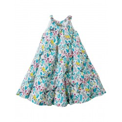 Dress - Frugi - Tabitha Trapeze -  Birdy Paradise - 7-8  -  last one in - CLEARANCE 45% off - No return