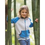 Jacket - Frugi - Issac Raglan Jacket - Grey Marl - 5-6, 6-7y - sale